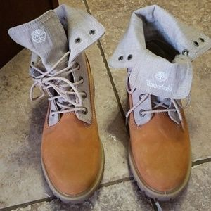 Timberland fold down boots